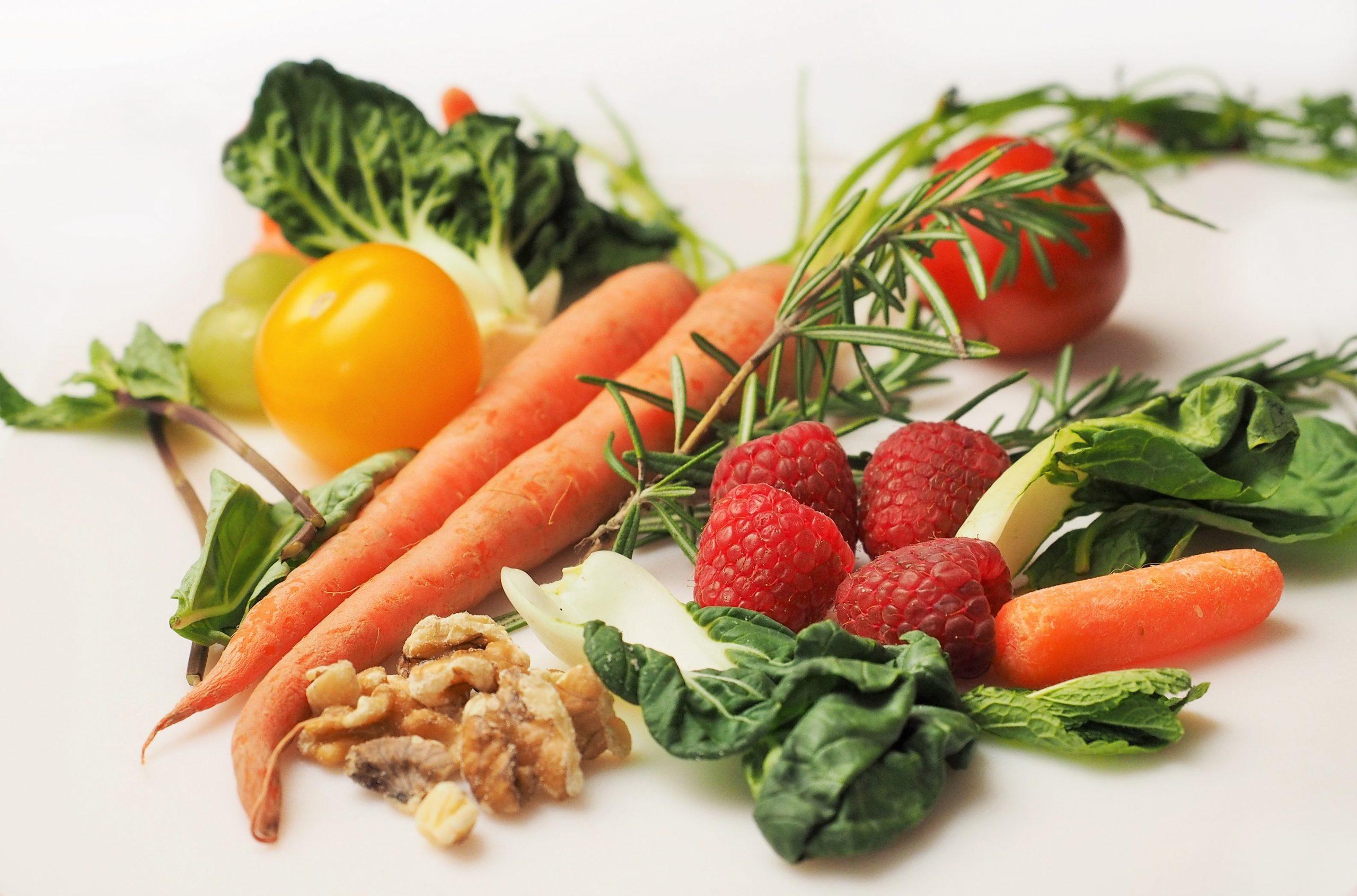 פירות וירקות, תזונה טבעית